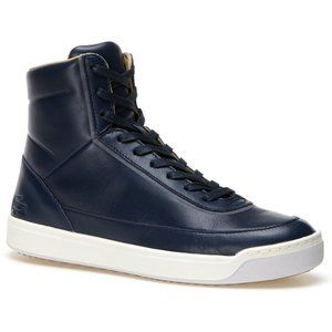 LACOSTE Explorateur Calf Leather High Top Shoes